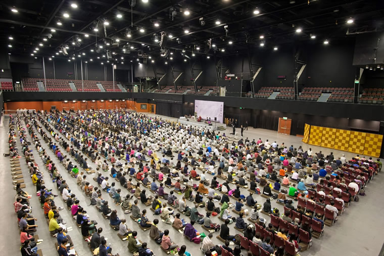 1000-People Meditation Event